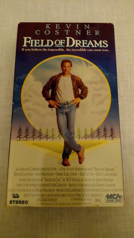 Field of Dreams VHS Movie with Kevin Costner