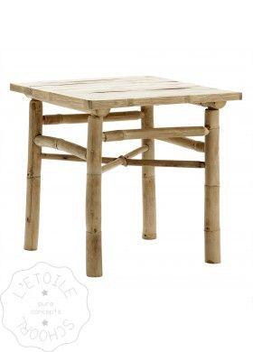 Meer dan 1000 idee n over bamboe tafel op pinterest nep bamboe bamboe meubels en bamboe - Deco loungeeetkamer ...