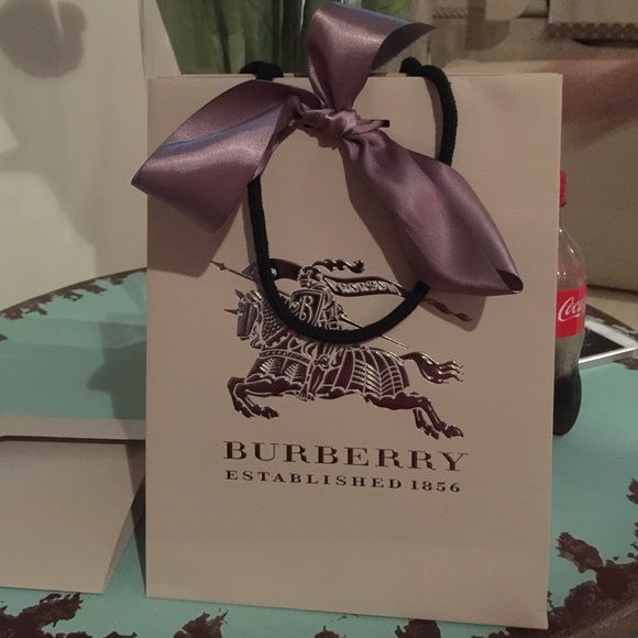 Burberry Other - Burberry shopping bag