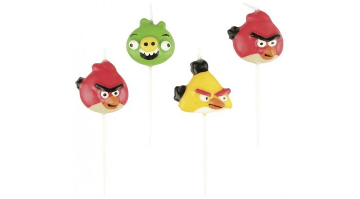 Angry birds gyertya - Angry birds party - Nicol party bolt budapest