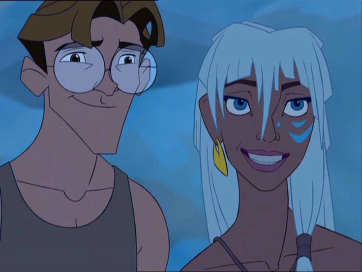 For some reason, I avoided watching Atlantis for the longest time, but when I finally watched it, I fell in love with it. It's one of my favorites, even though I haven't seen it in a while.