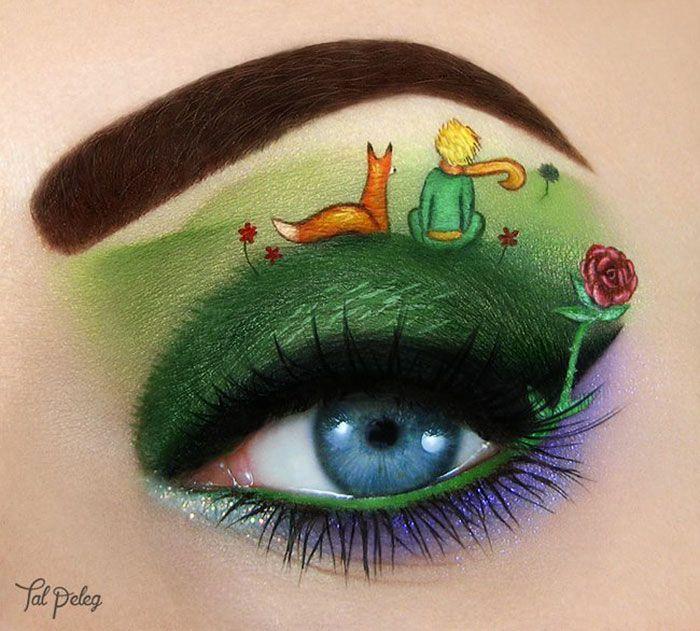 De nouveaux maquillages artistiques des yeux par Tal Peleg 2  2Tout2Rien