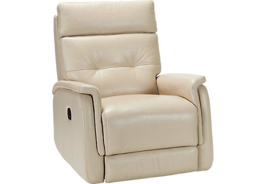 Adelino Taupe Leather Recliner At Rooms To Go I Bought