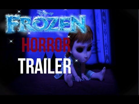 MOST HORRIFYING Trailer of FROZEN If It Were a Horror Movie - YouTube