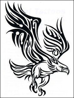 ... eagle on Pinterest | Tribal Eagle Tattoo Eagles and Eagle Tattoos