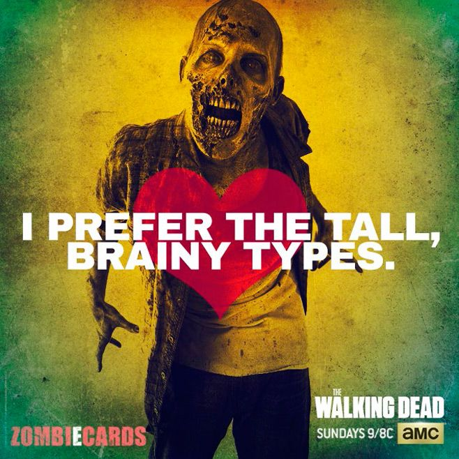 The Walking Dead Valentineu0027s Day ZombiEcards
