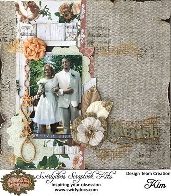 Kaisercraft Always and Forever. Swirlydoos+May+*Peach+Blossom*Kit - 2016
