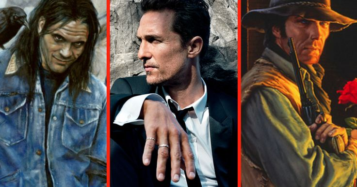 'The Dark Tower' Wants McConaughey: Is He Deschain or Flagg? -- Matthew McConaughey has been offered both the Roland Deschain and Randall Flagg roles in 'The Dark Tower', but he's leaning towards Flagg. -- http://movieweb.com/dark-tower-movie-matthew-mcconaughey-deschain-flagg/