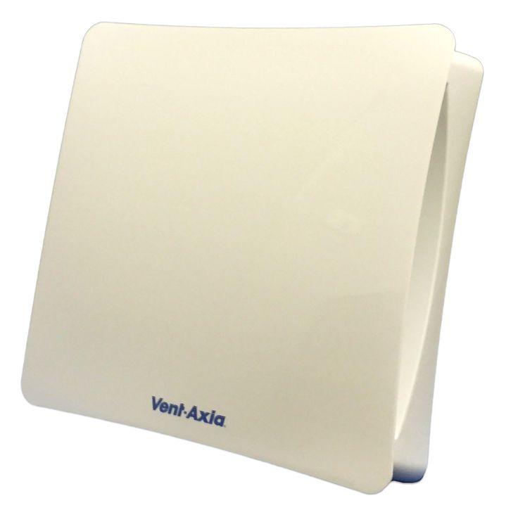 VENT AXIA VASF100B SILENT 100MM AXIAL BATHROOM / TOILET FAN - 446658