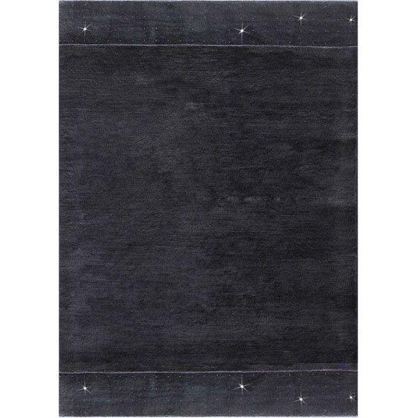 Черный ковер Сваровски «Знать» Swarovski Noblesse #carpet #rug #interior #designer #ковер #дизайн #swarovski #сваровски