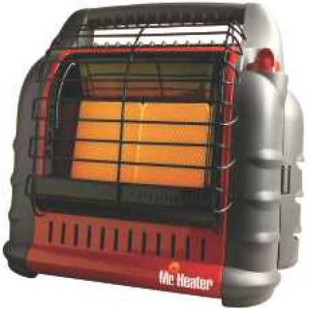 Mr Heater Big Buddy Portable Heater Liquid Propane Dual-Heating System, F274800, Red