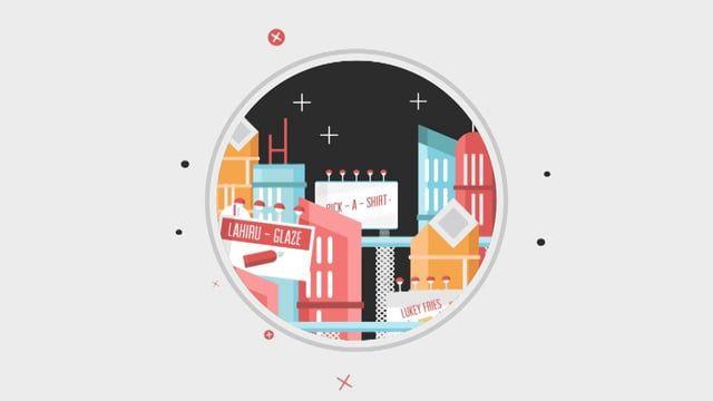 Design and animation: Luke Saunders Agency: Jumbla
