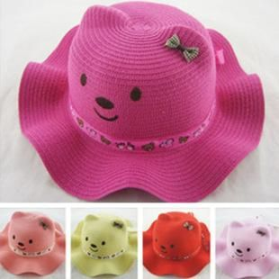 2017 NEW Hot Children Hat Wavy Cubs hat Cartoon Modeling boys and girls baby summer hat Large number of promotional