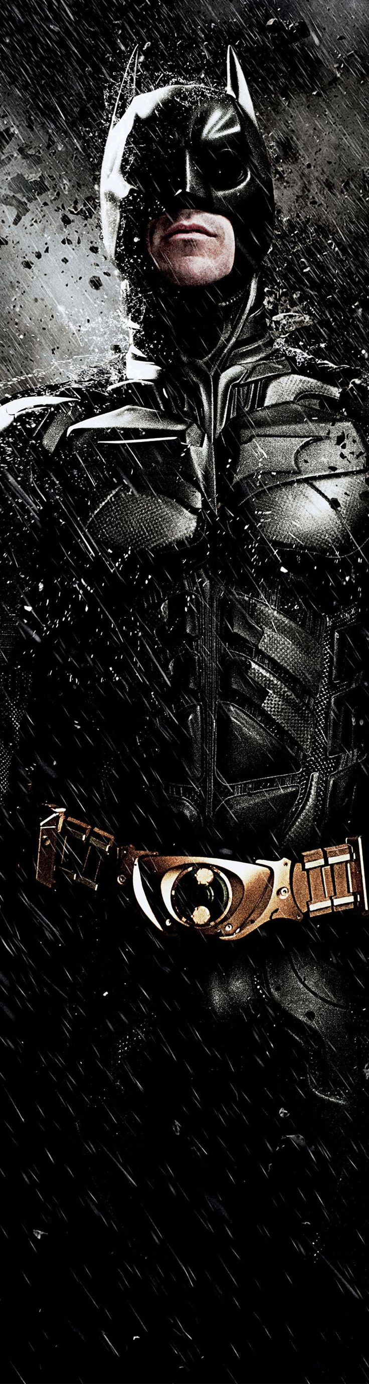 Christian Bale is Batman in The Dark Knight Rises  2012