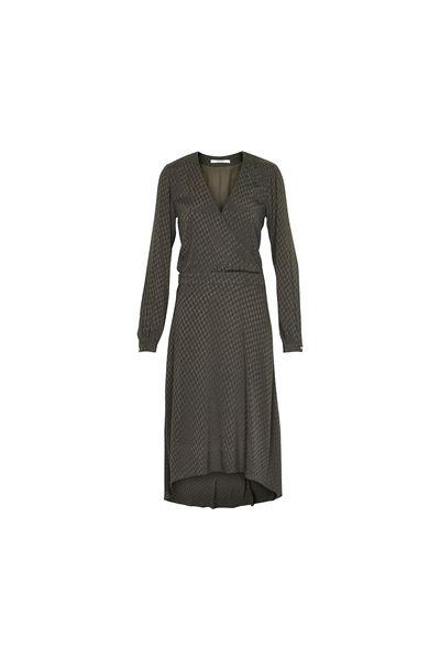 Olivengrønn Oliven Nete kjole fra Gestuz - Kjoler