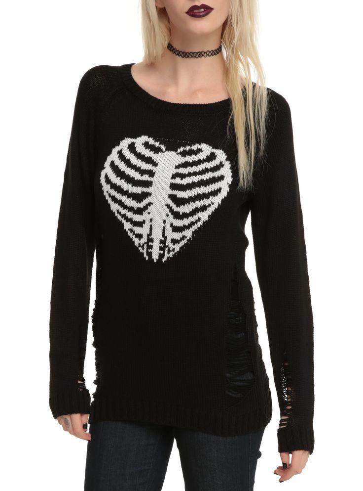 http://www.hottopic.com/hottopic/Girls/Sweaters/Black Rib Cage Girls Sweater-10221385.jsp