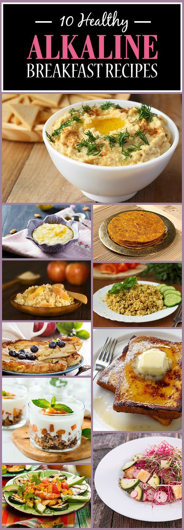 Looking for some delicious alkaline breakfast recipes? We have some of the best ones enlisted for you! #breakfast #recipes #brunch #easy #recipe