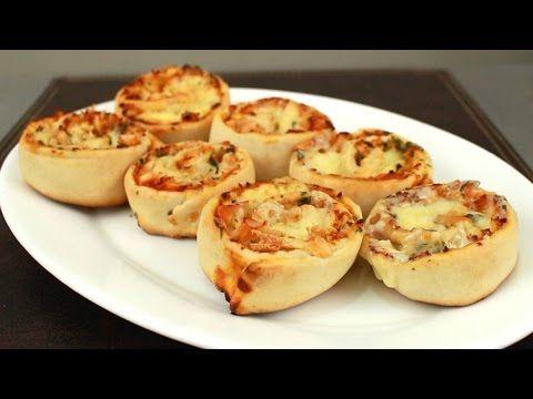 Rollos de pizza   delicias.tv