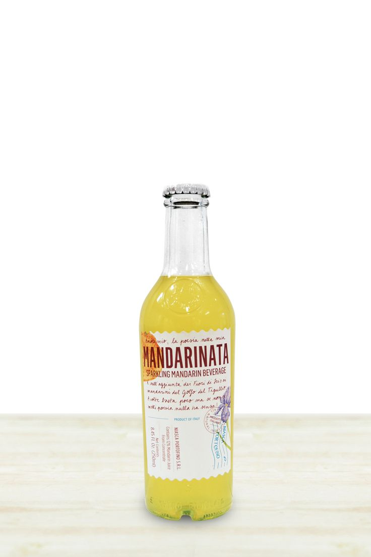 An all-natural sparkling mandarin beverage from the groves of Portofino