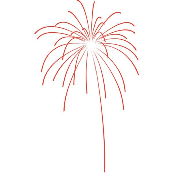 Fireworks firework clipart 4 - Cliparting.com found on Polyvore featuring polyvore and fireworks