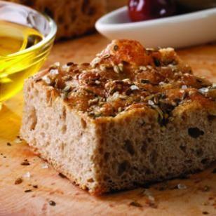 Parmesan-Herb Focaccia Recipe #Recipe