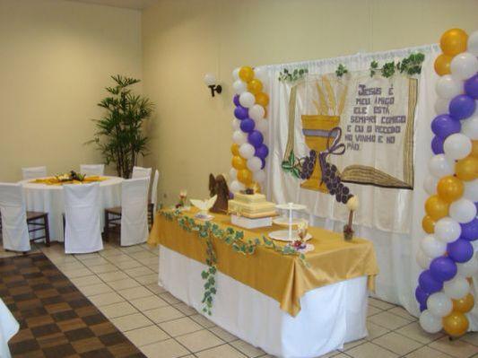 Decoraç u00e3o primeira comunh u00e3o Primeira Comunh u00e3o Pinterest -> Decoração Primeira Comunhão Igreja
