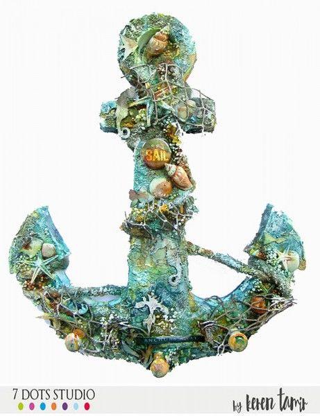 Anchors away by Karen Tamir