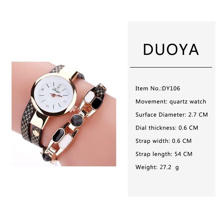 DUOYA D167 Fashionable Women Bracelet Watch