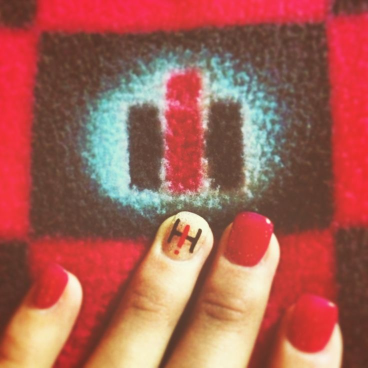 Nails. Country girl. Farm life. Case IH.