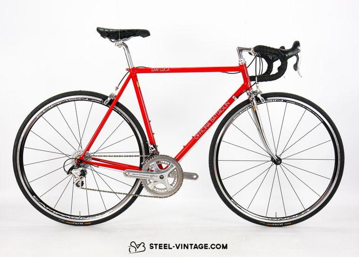 Steel Vintage Bikes - Officina Battaglin San Luca Postmodern Italian Road Bike