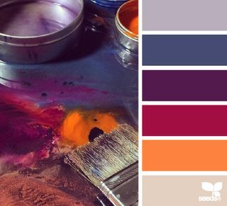 Home decoration, colors match! Lovely colors!