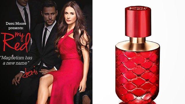 Ginbers Butik: Parfum My Red dari Demi Moore