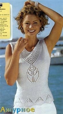 Patron Crochet Top | Patrones para Crochet