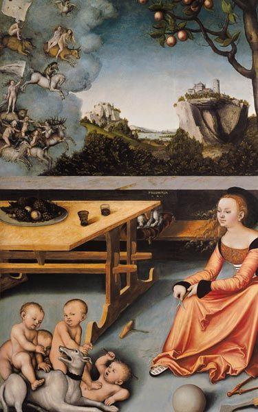 Image: Lucas Cranach the Elder - Melancholy   Looking at ...