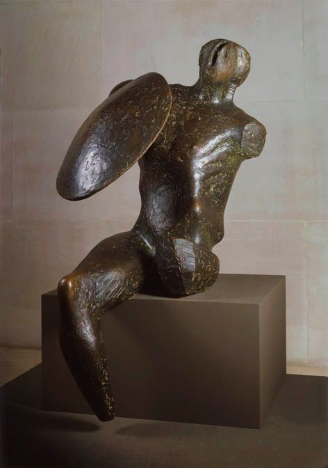 Henry Moore, Warrior with Shield | AGO Art Gallery of Ontario