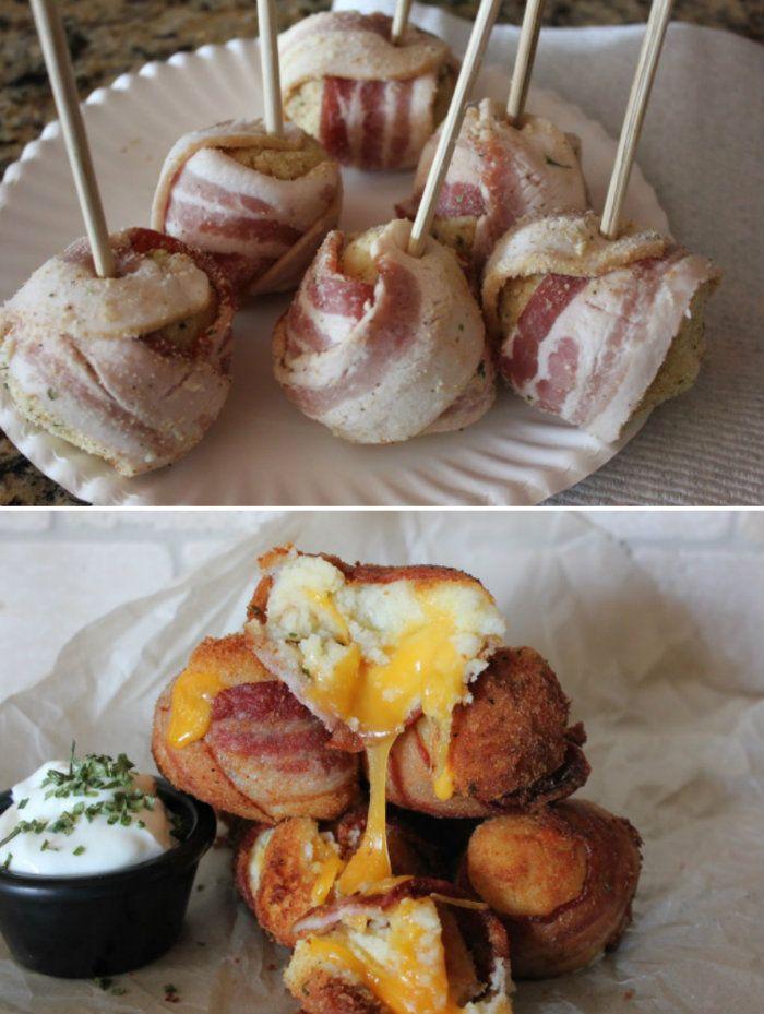 Potato Bacon Bombs