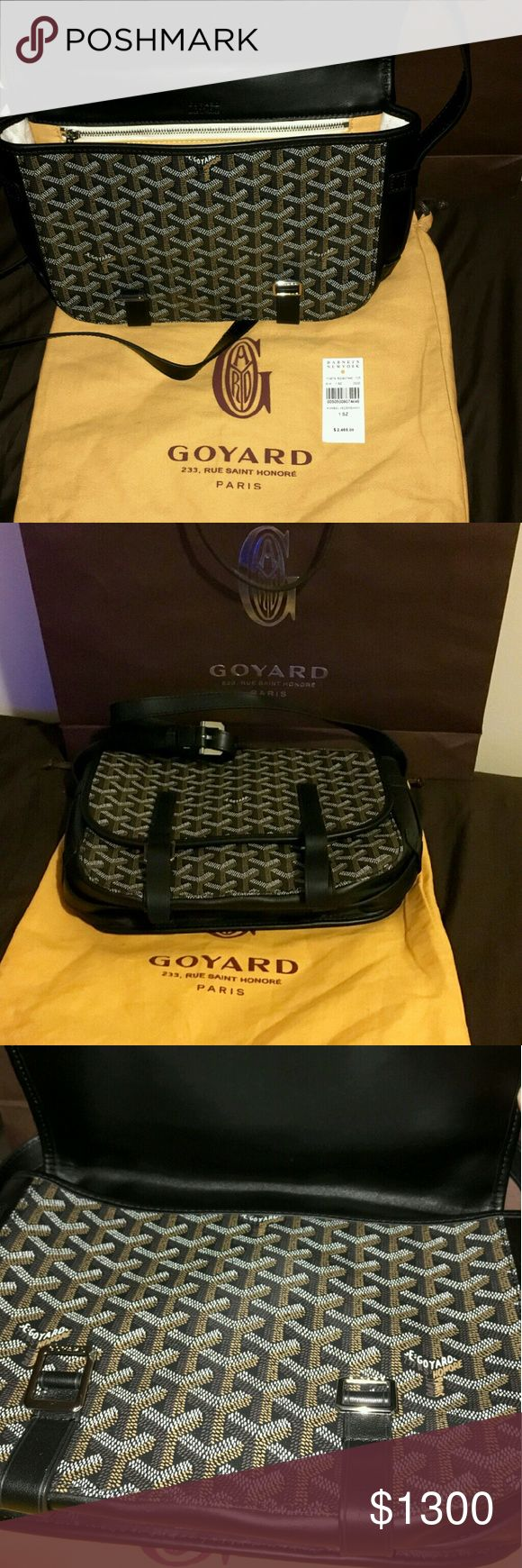 Goyard Messenger Bag In new condition, comes with dustbag and authentication card Goyard Bags