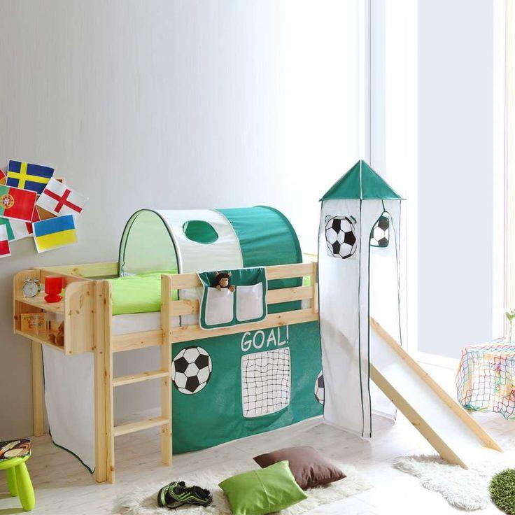 Exceptional Spielbett Aus Kiefer Massivholz Rutsche Jetzt Bestellen Unter:  Https://moebel.ladendirekt.de/kinderzimmer/betten/hochbetten/?uidu003d02e120d1 452c 5f6a B8fb   ...