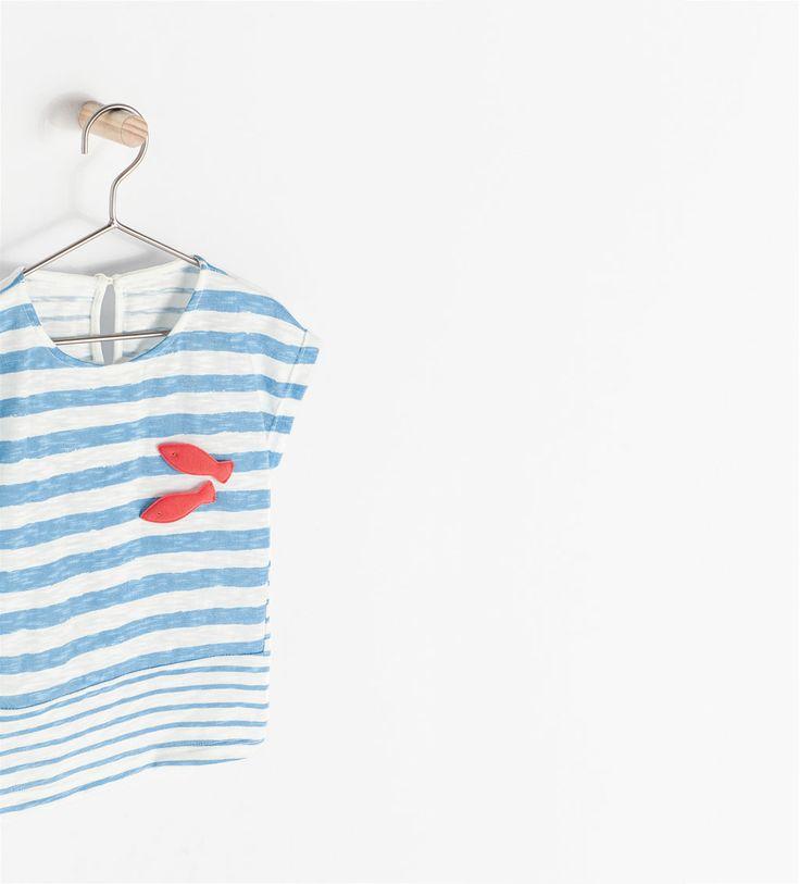 T - shirts - Baby Meisjes - Kinderen   ZARA Nederland