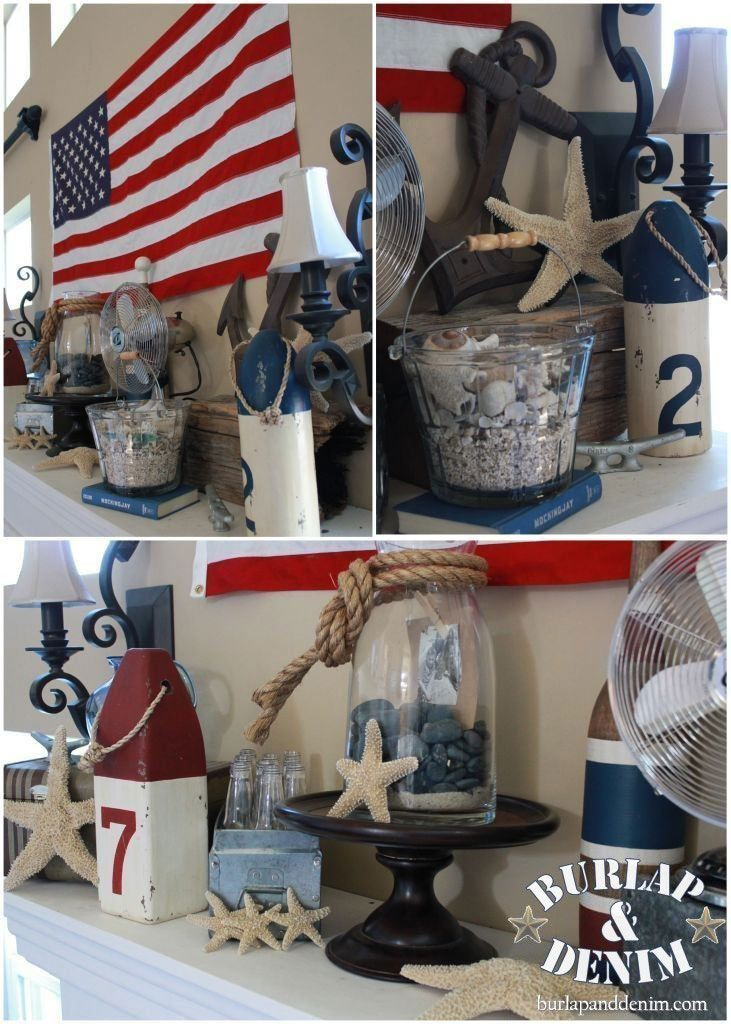 American Beach Summer Mantle