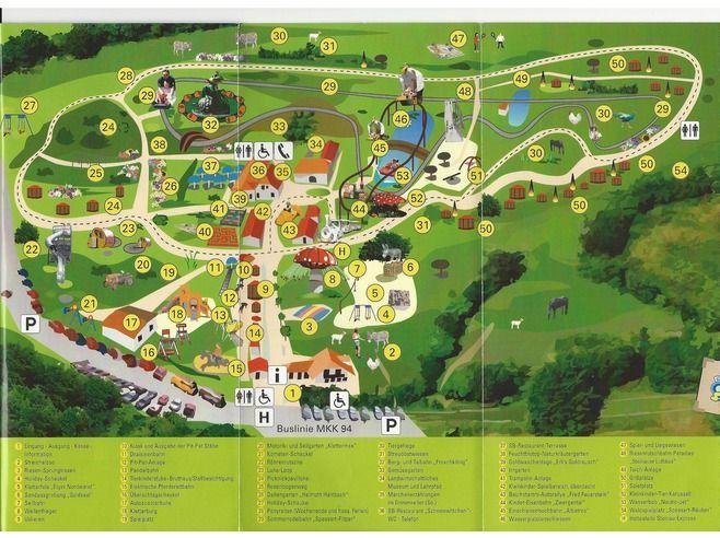 Map of the park Steinau