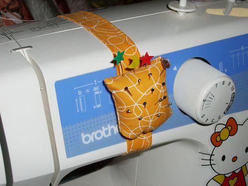 Coussin à aiguilles pour machine
