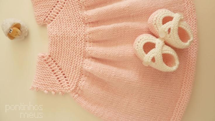 pontinhos meus: Vestido menina - Sweet baby dress