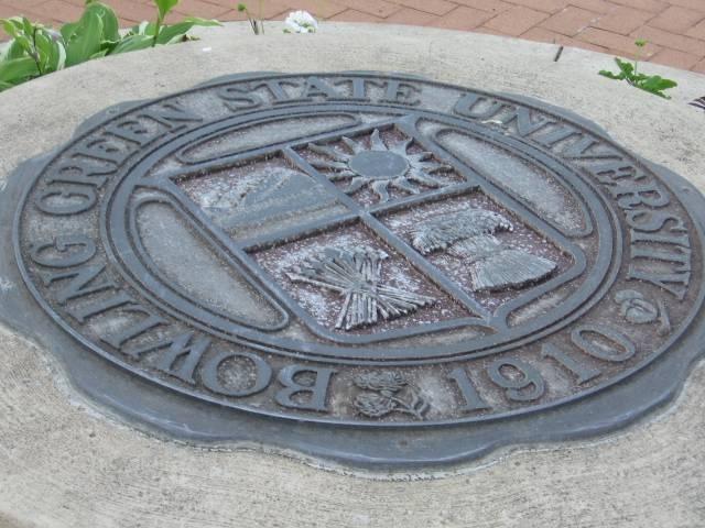 Bowling Green State University Falcons -cast iron logo