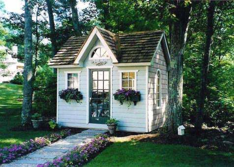 copper creek garden shed in boxford massachusetts gardens copper and flower boxes - Garden Sheds Massachusetts