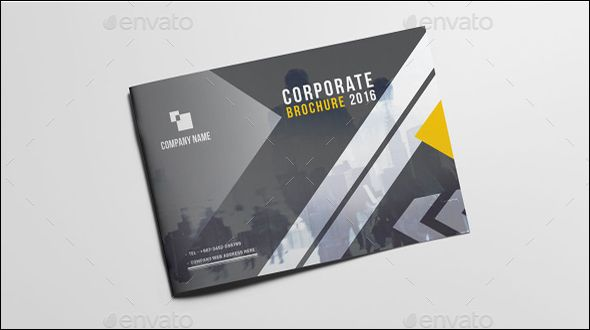 Corporate Brochure Design Modern Landscape Brochure to Present Your Business Style In Ultimate Way. High end Printing Quality Guaranteed !!! 16 unique page layout with International A4 and US Letter Size. Suitable for Business Company or Multipurpose Use.This template download contains 300 dpi print-ready CMYK color, indesign, IDML file. All main elements are easily editable and customization.