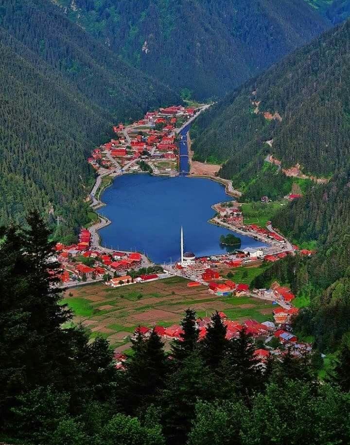 Uzungöl lake, Trabzon
