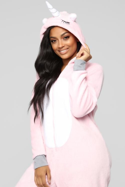 9b69e64a9 Unicorn Baby PJ Onesie - Pink | Fashion Nova in 2019