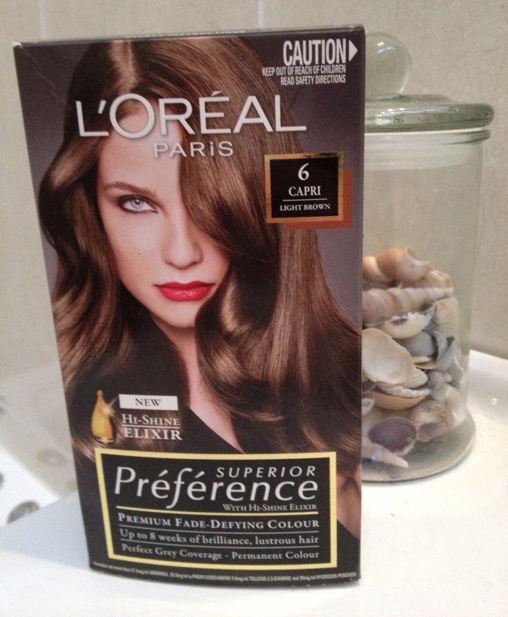 Loreal Preference Hair Color Range Famous Hair Dye 2018