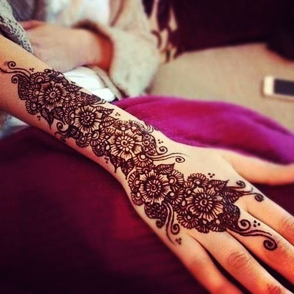 Mehndi Eid Collection 2015   Eid Mehndi Designs 2015 for Ladies